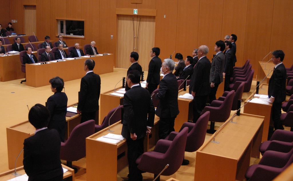 核燃新税条例を可決 青森県むつ市、県と「二重課税」も