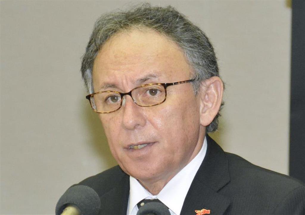 玉城デニー沖縄知事「復元へ前進」 首里城の工程表を歓迎