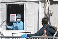 米、新型コロナ死者千人超 感染8万人、中国に迫る