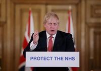 ジョンソン英首相が新型コロナ検査で陽性 G7首脳で初 保健相も感染