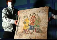「飛鳥美人」の複製陶板を制作 橿考研付属博物館