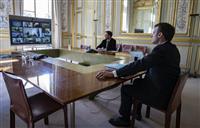 新型コロナ 欧州で各国首脳が国民に直接呼びかけ 仏「これは戦争」