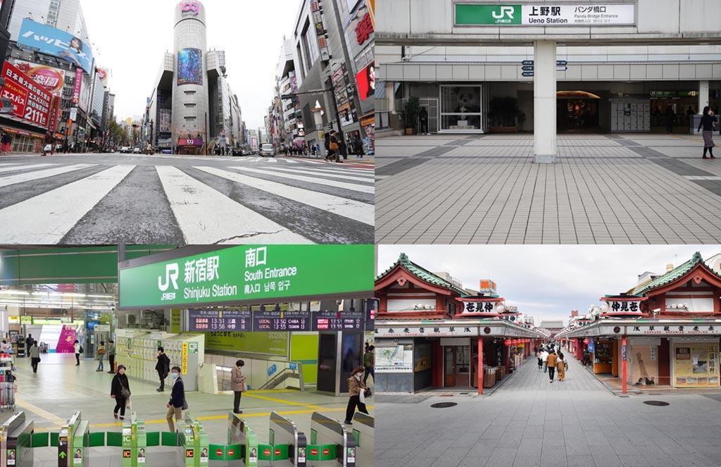 東京都などが不要不急の外出自粛を求めた週末が始まっ…|活気失った首都に落胆 「意識浸… 写真1/1|産経ニュース