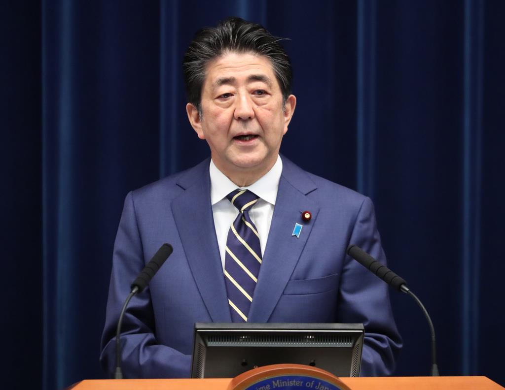 【首相記者会見】首相「補正予算、早期に国会提出」