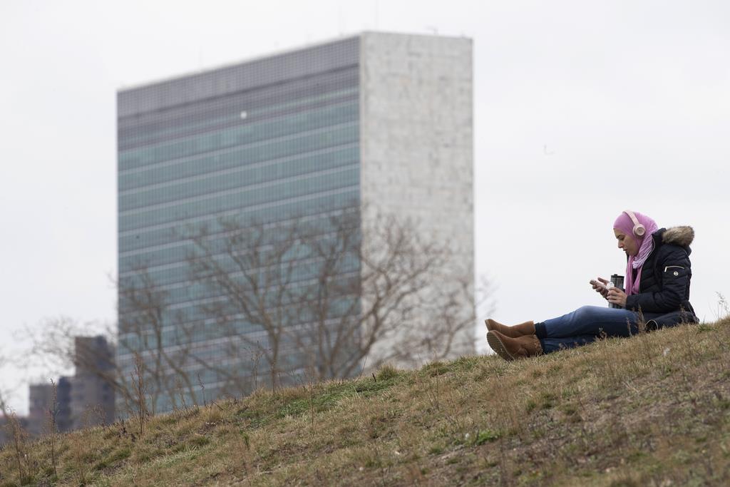 米ニューヨークの国連ビル=17日(AP)