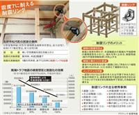【耐震の新技術】(下)耐震リング 築70年でも大丈夫