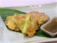 【ひなちゃんパパの家族レシピ】春キャベツとサクラエビの卵お焼き