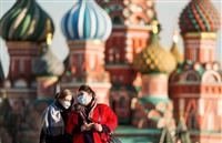 モスクワ市、外出制限導入 新型コロナ感染拡大で