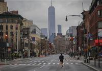 【新型コロナ】米NY州 感染者6万人に迫る 1日の死者数は237人で最多
