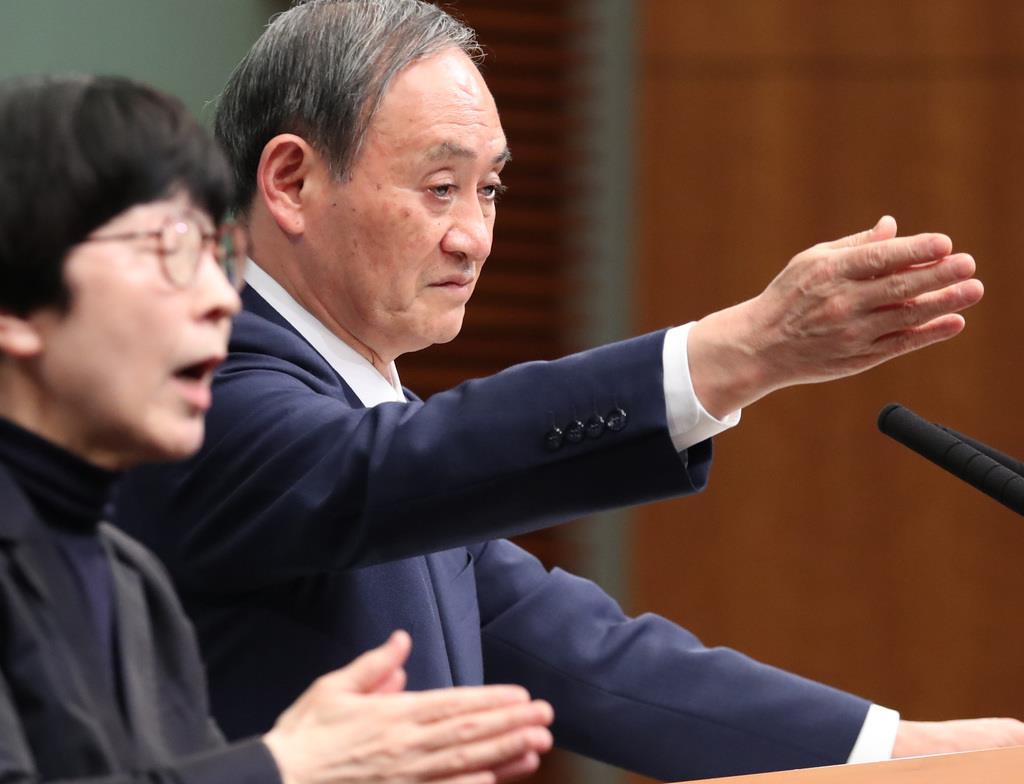 北朝鮮ミサイルは新型 菅官房長官が示唆