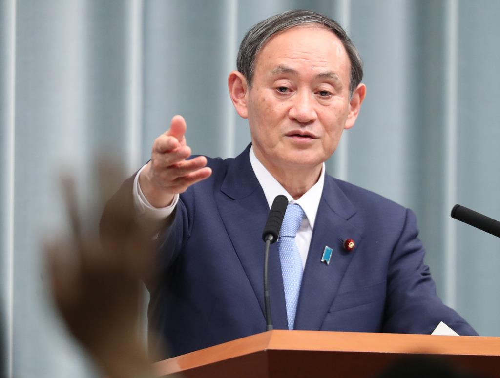 菅官房長官「ぎりぎりの状態」重ねて強調も、緊急事態宣言発出に…