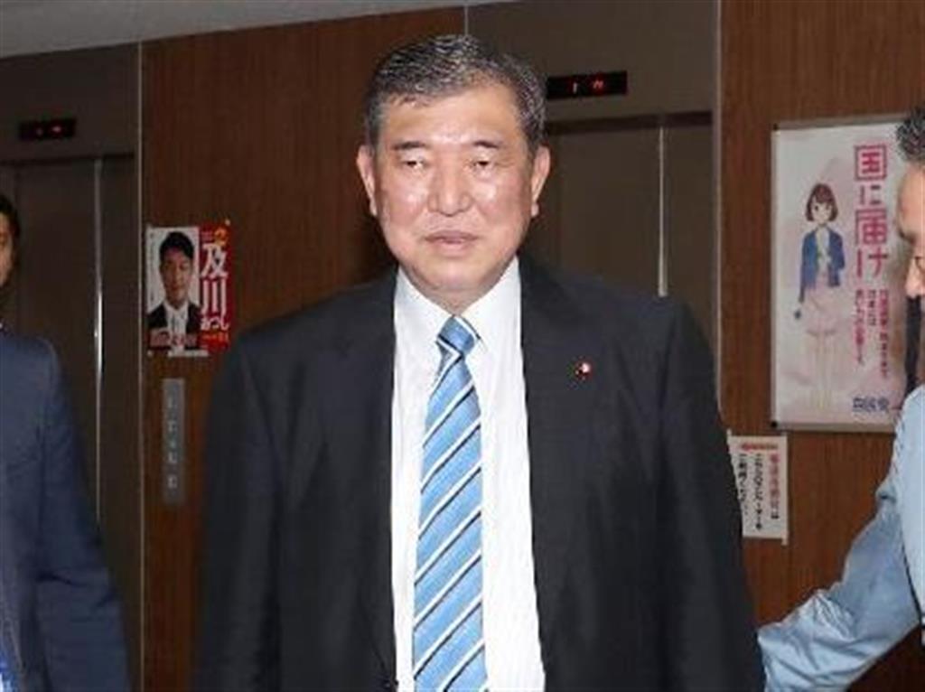 自民・石破元幹事長、志村けんさん死去「70歳はまだ若い」 新…