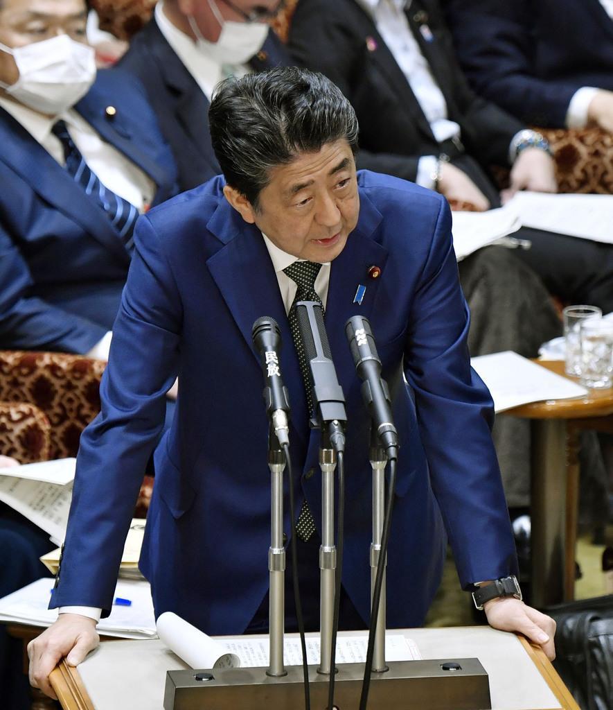 安倍首相「デマが流れている」 「4月1日緊急事態宣言」を否定