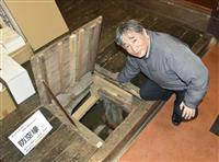 博多のガクブチ店に残る防空壕 店主・立石さん「悲劇繰り返さぬ」