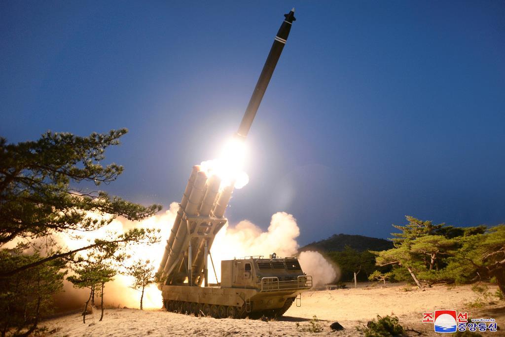 北ミサイル、感染拡大で発射の可能性指摘 河野防衛相