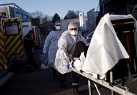 フランスの病院パンク寸前 患者移送急ピッチ、獣医が呼吸器提供