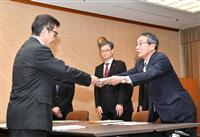 松井市長、関電側に社外取締役の推薦を要望