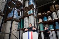 フランスも新型コロナ死者数、中国超す マスク自給目指すと大統領