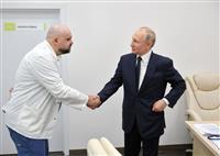 プーチン氏接触の医長感染 モスクワ病院で治療指揮