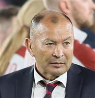 ジョーンズ監督が契約延長 イングランド・ラグビー協会