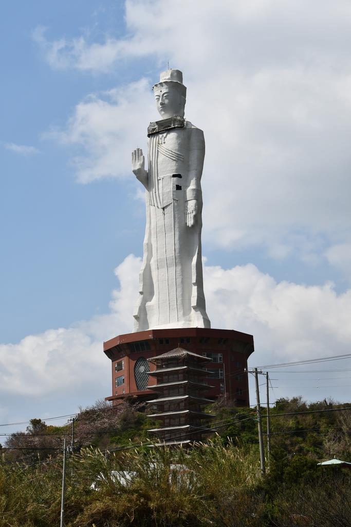 淡路島の「世界平和大観音像」撤去へ