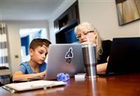 学校閉鎖188カ国に 15億人に影響 オンライン学習に課題も