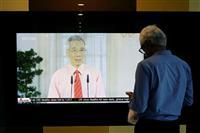 シンガポール、事業所や学校を1カ月閉鎖へ 「いま断固とした行動を取る」