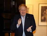 ジョンソン英首相、発熱続く 自主隔離期間延長