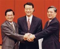 【話の肖像画】台湾元総統・陳水扁(69)(13)三つどもえ、台北市長選に出馬
