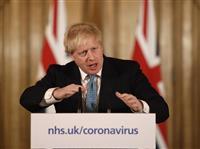 感染のジョンソン英首相が入院 深刻なら外相が代行