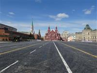 【ロシアを読む】「ソ連時代に戻ったよう」 外出制限で人も渋滞も消え…