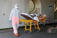 イタリア死者1万6523人に 世界最悪も新規感染者減少