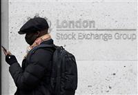 欧州株式、反落
