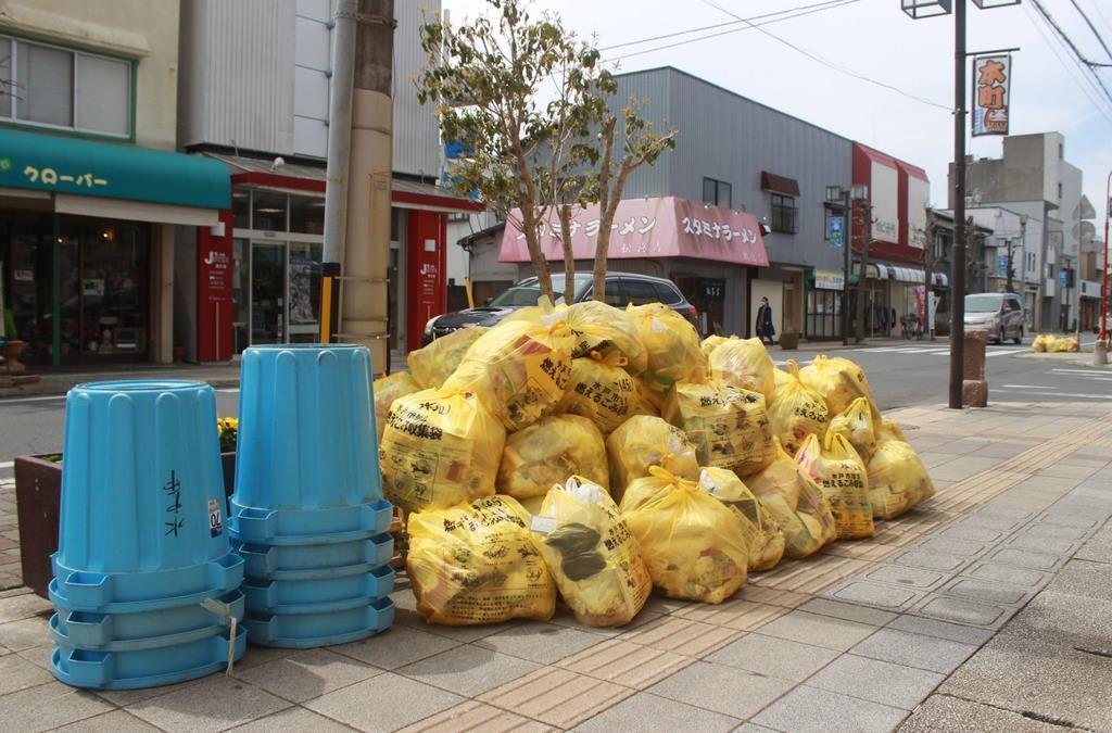 集積場が「ごみの山」、ルール変更で水戸市内が混乱、市民の問い…