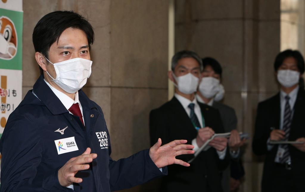 大阪府、11日にも宿泊施設で軽症者ら受け入れへ