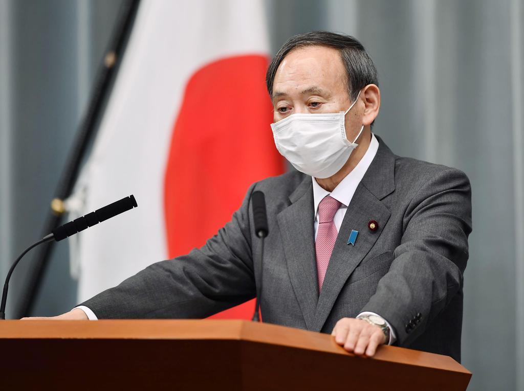 定例閣議を持ち回りで開催 菅氏「感染症拡大防止と危機管理」