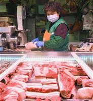 中国物価4・3%上昇 新型コロナ影響で食品の高騰続く