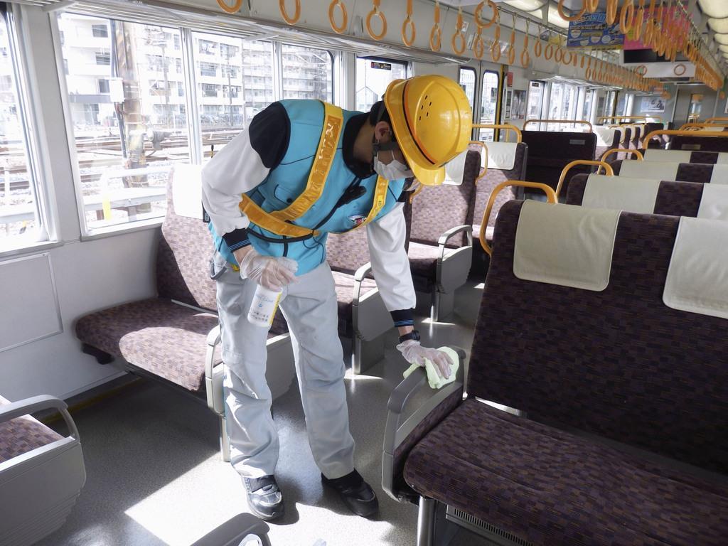 車内換気や消毒で感染防止 鉄道各社、リスク回避へ取り組み