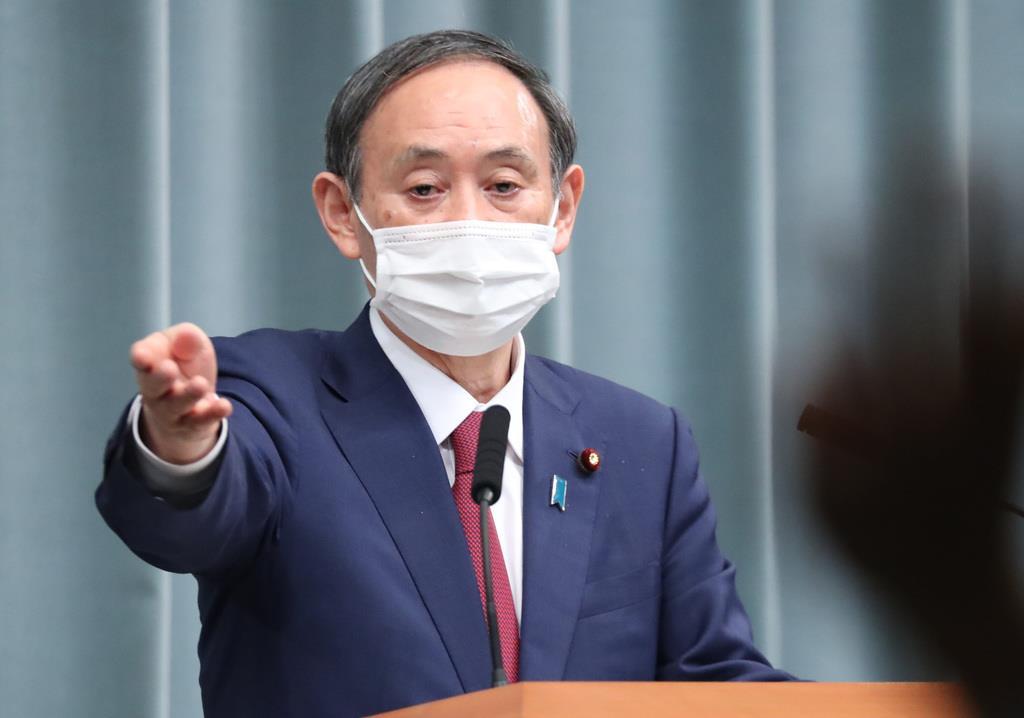 愛知と京都の対象地域追加「現時点で聞いていない」 菅官房長官