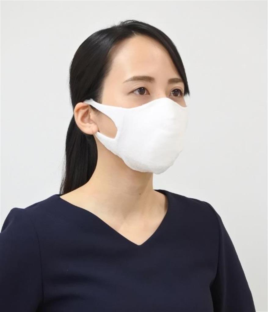ミツフジが開発した繰り返し洗えるマスク(同社提供)