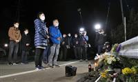 熊本地震、連続激震から4年、現場で遺族ら祈り