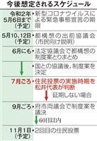 長引くコロナ禍 大阪都構想・住民投票に延期論も