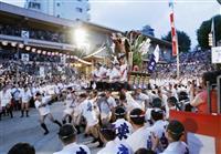 「追い山」舁けぬ夏 新型コロナで博多祇園山笠、来年に延期決定