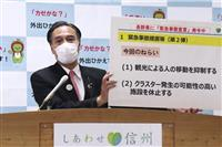 長野県が休業、時短要請 30万円支給、観光抑制も