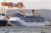 新たに130人を検査 感染拡大の客船、長崎