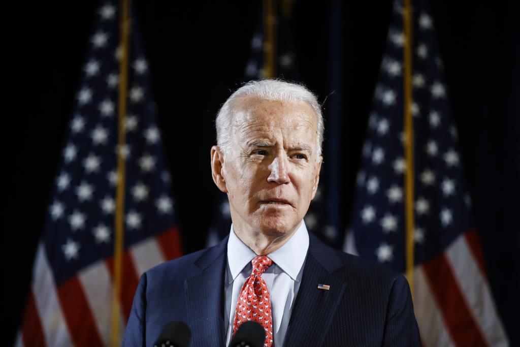民主党の予備選中止で、米ニューヨーク州に割り当てられた代議員274人を全て獲得するバイデン氏(AP)