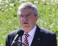 IOC理事会で予算見直し バッハ会長、WHOと覚書