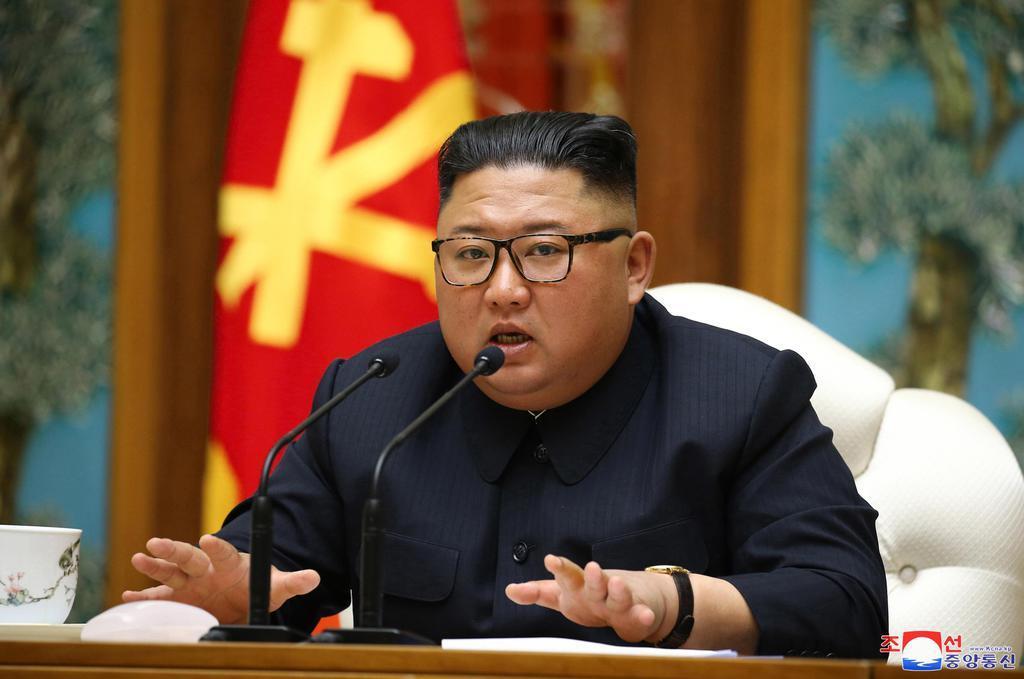 金正恩朝鮮労働党委員長(朝鮮中央通信=共同)