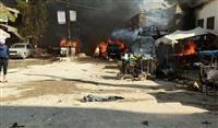 シリア北西部で爆発、40人死亡 トルコが非難