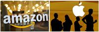 米アマゾン、アップル増収 巣ごもり消費、1~3月期